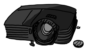 2500 lumen projector