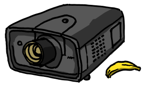 7000 lumen projector