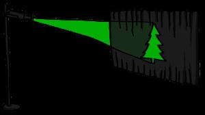 Tree gobo