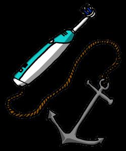 Toothbrush anchor